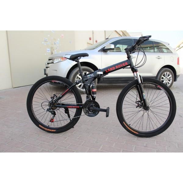 LAND ROVER Bicycle black