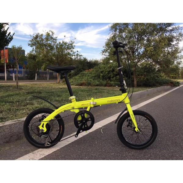 makemini Folding bicycle Green